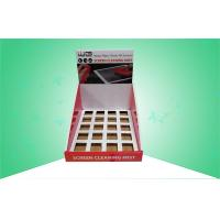 China Cardboard Counter Displays / Display  Box for Selling Screen Cleaner With Insertor on sale