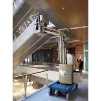 Compact Size Free Rotation Self Propelled Mobile Elevating Work Platform into elevator Manufactures