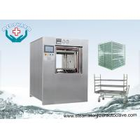360 Liter Double Door Hospital Steam Autoclaves With Post Vacuum Drying Function Manufactures