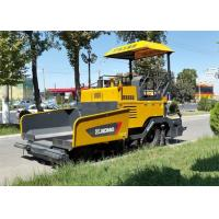 Quality 4.5m * 150mm Asphalt Paver Machine with Water Cooling Diesel Engine Powered 70KW for sale