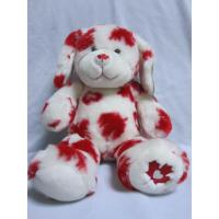 Red Maple Leaf Stuffed Easter Bunnies Holiday Plush Toys , 16 inch Manufactures
