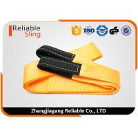4 Inch 15000 LBS Orange Heavy Duty Tow Straps Vehicle Recovery Straps 100% polyester Manufactures