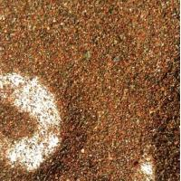 Sub Conchoidal Abrasives Garnet Sand For Water Jet Cutting Project Size 36 Mesh Manufactures