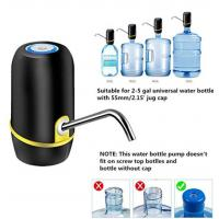 Lithium Battery Rechargeable Electric Water Dispenser Pump With Food Grade Material Manufactures