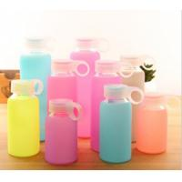 Food Grade Silicone Bottle Sleeve High Temp Tolerance For Glass Ceramic Bottle Manufactures