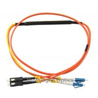 Buy cheap Duplex 62.5/125 Optical Fiber Patch Cord / Fiber Optic Mode Conditioning Jumping from wholesalers