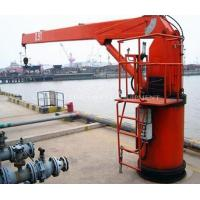 Marine Crane with Hydraulic Telescopic Booms Manufactures