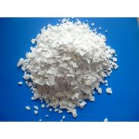 Industrial Grade 74% White Flakes Calcium Chloride Manufactures