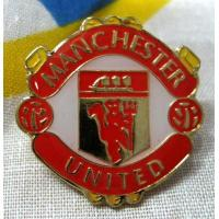 China Silk screen / offset printing 1mm Custom Badges embroidered football badge on sale