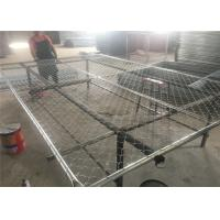 "6'x10' temporary chain link fence ,construction panels tubing 1½""(38mm) x 15.5ga/1.70mm wall thick chain mesh2¼""50mm Manufactures"