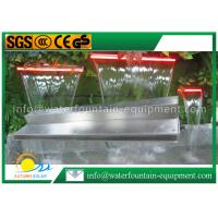 Quality Garden Water Fountain Equipment Waterfall Blade With Remote Controller 1500mm for sale