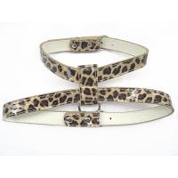 China Leopard PU dog harness yellow and pink 2 colors 2 sizes 30 pcs/lot on sale