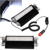 8Watt LED Vehicle Work With Remote Control & Car Cigarette Lighter / LED Emergency Strobe Lights Manufactures