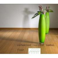 Solid Carbonized Vertical Bamboo Floor Manufactures