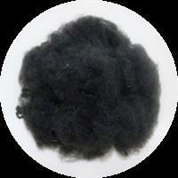 High Tenacity Black Polyester Fiber For Yarns Spinning 1.2 Denier X 32 MM Manufactures