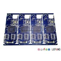 Custom Made Copper Clad Printed Circuit Board , Power Amplifier PCB 8 Layers 1.0mm