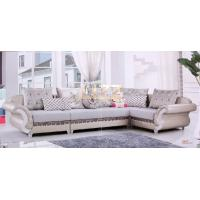 Gray + White Corner Fabric Sofa L.A035 Manufactures