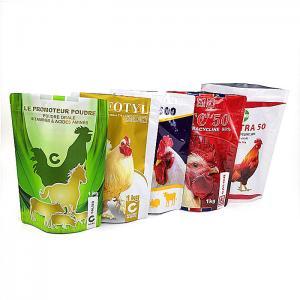 Moisture Proof Plastic Pouches Packaging Food Plastic Bag Zipper Top Customized Color