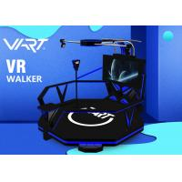 Funny Virtual Reality Game Machine / 2 Handle 9D VR Standing Simulator Manufactures