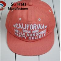 Wholesale New style good shape custom logo embroidery snapback hat, cartoon embroidery children caps Manufactures