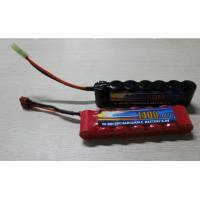 High Power Discharge Typ 8.4V 1600 mAh  Airsoft Gun Battery / Rechargeable NIMH AA Batteries Manufactures