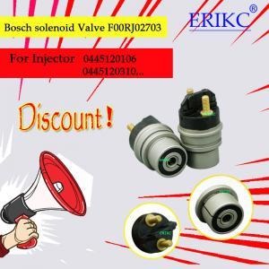 ERIKC bosch common rail solenoid valve FOORJ02703  (F OOR J02 703) oil injector solenoid valve F00V C30 318 Manufactures
