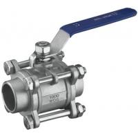 China 3PC Butt-Weld Ball Valve, 1000wog (WCB, 304, 316) on sale