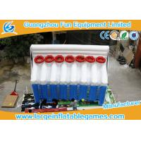 Basketball Inflatable Sport Games , Inflatable Shooting Score 6mL*2.5mW*4mH Manufactures