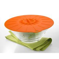 5Pcs Food Grade Reusable Silicone Food Fresh Cover Suction Lid For Bowls Cups Manufactures