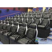 Customized Color 5D Theater System Seats Used For Center Park And Museum Manufactures