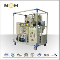 China Vacuum Mobile Transformer Oil Purifier Plant / Insulating Oil Portable Oil Purifier on sale