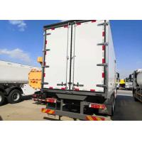 China Refrigerated 10 Wheels Euro Truck 2 Heavy Cargo For Meat And Foods Transport on sale