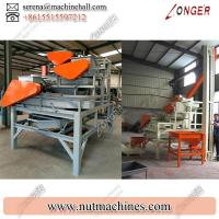 Buy Large Almond Cracking Machine / Automatic Nut Cracker for Sale Manufactures