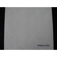 China Baier high quality PVC Gypsum Ceiling Tiles #996 on sale