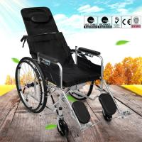 Adjustable Lightweight Manual Wheelchair Spray Steel Material 20kg Manufactures