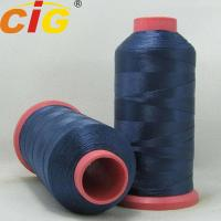 Stretchable Garments Accessories Dyed 100% Nylon Thread For Sewing Leather Manufactures