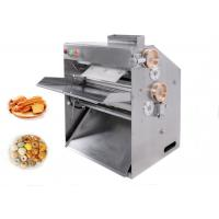 China Stainless Steel Pizza Dough Pressing Machine Food Processing Equipments 220v 400W on sale