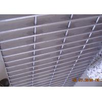 Plain Bar Stainless Bar Grating , Anti Corrosive Floor Grates Stainless Steel Manufactures