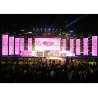 P4.81mm Pixels Pitch Full Color Led Display Stage Rental 1R1G1B High Refresh Rate Manufactures