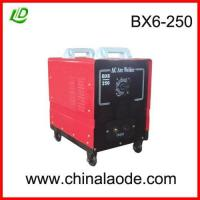 BX6-250 AC arc welding machine Manufactures