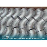 90 / 45 Deg 3D Elbows Titanium Pipe Fittings Acc ASME B16.9 For NPS Sizes Pipeline Manufactures