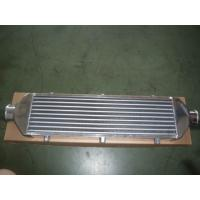 Compact Vacuum Finned Tube Heat Exchanger / Aluminum Intercooler For Car  Manufactures