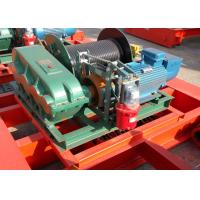 20 Ton Wire Rope Electric Winch Trolley Hoist For Overhead Crane Manufactures