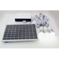 Portable Solar Powered Led Kit Solar Lighting Kit Camping Customized Size Manufactures