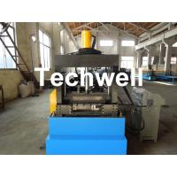 Cable Tray Forming Machine With 18 Groups Forming Roller Stand , Roll Forming Equipment Manufactures