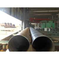 Spiral Welded Galvanized Steel Pipe For Water Supply , Gas Line , ISO 9001 / API / BV / SGS Manufactures
