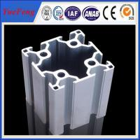 90x90 silvery anodizing industrial Aluminium Profile Manufactures