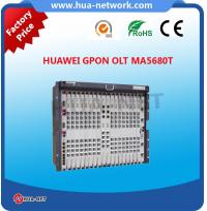 2SCUN 2GICF 2PRTE 1GPBD HUAWEI OLT MA5680T  new arrival Manufactures