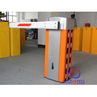 Steel Customized Logo Boom Barrier Gate , Security Car Park Barrier Manufactures