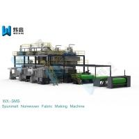 Full Automatic Spunmelt PP Non Woven Fabric Machine For Shopping Bag Manufactures